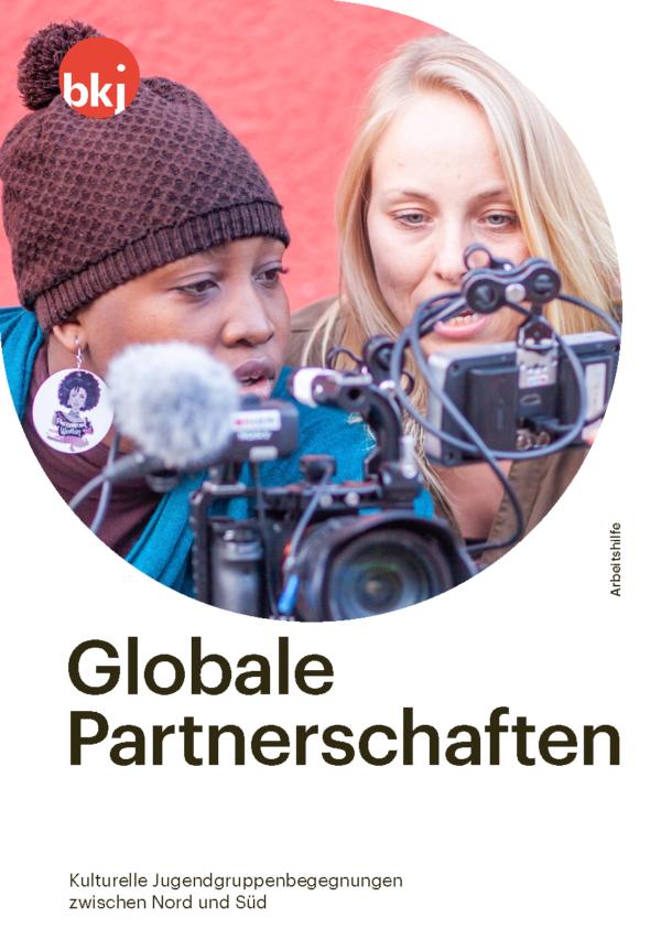Titelseite Arbeitshilfe Globale Partnerschaften