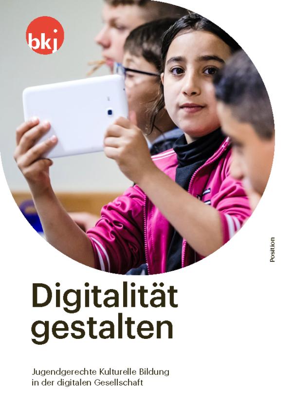 Titelseite Positionspapier Digitalität gestalten
